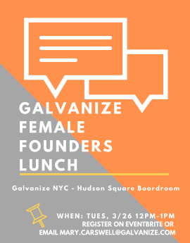 Female Founders Lunch