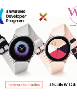 Samsung women of wearables