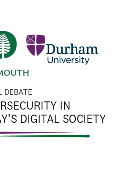 Dartmouth College - Durham University Cybersecurity Debate: Dec. 13th at the New York Academy of Sciences